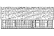 House Plan Design - Traditional Exterior - Rear Elevation Plan #430-8