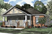 Architectural House Design - Craftsman Exterior - Front Elevation Plan #17-3189