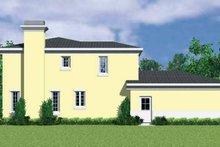 House Blueprint - Mediterranean Exterior - Other Elevation Plan #72-1129
