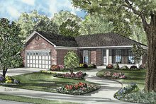 House Plan Design - Country Exterior - Front Elevation Plan #17-3169