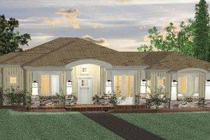 Dream House Plan - Prairie Exterior - Front Elevation Plan #937-28