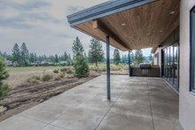 Modern Exterior - Covered Porch Plan #892-14