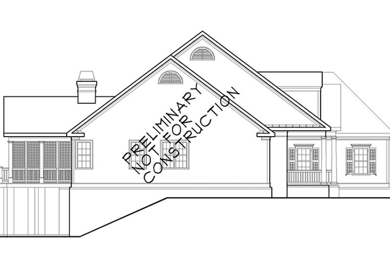 Colonial Exterior - Other Elevation Plan #927-486 - Houseplans.com