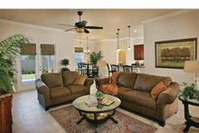 Dream House Plan - Country Interior - Family Room Plan #938-1