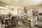 Mediterranean Style House Plan - 3 Beds 4.5 Baths 3371 Sq/Ft Plan #930-456 Interior - Kitchen