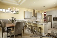 Mediterranean Interior - Kitchen Plan #930-456