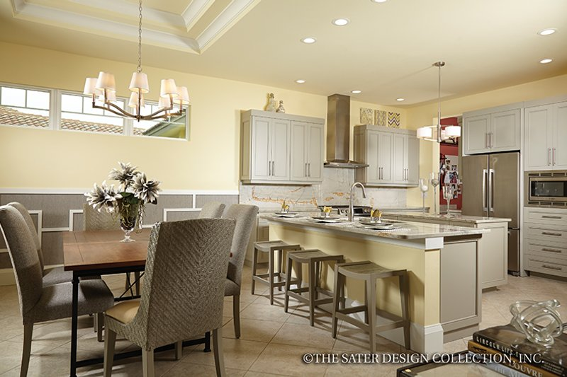 Mediterranean Interior - Kitchen Plan #930-456 - Houseplans.com