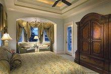 House Plan Design - Mediterranean Interior - Master Bedroom Plan #930-421