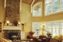 Country Interior - Family Room Plan #320-993