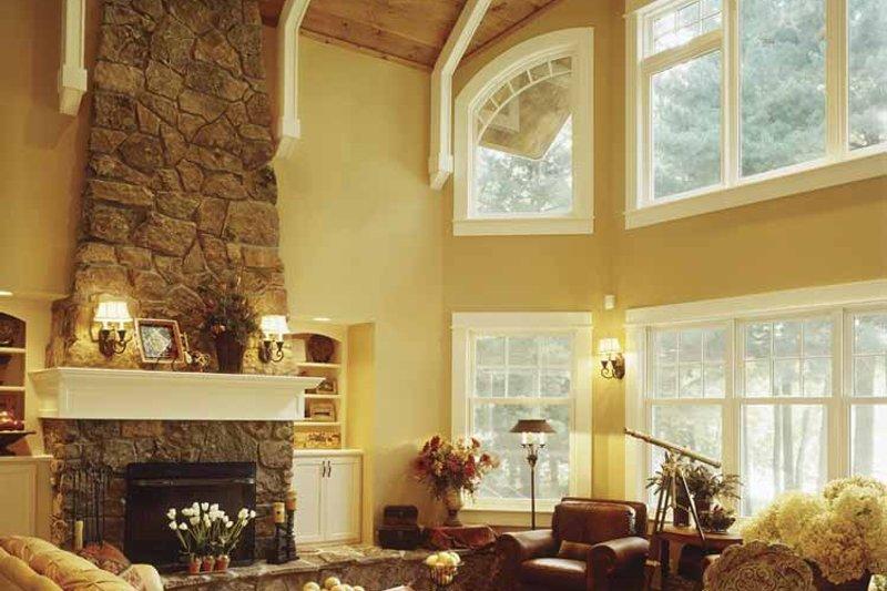 Country Interior - Family Room Plan #320-993 - Houseplans.com