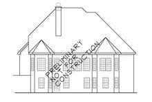 House Design - Mediterranean Exterior - Rear Elevation Plan #927-312