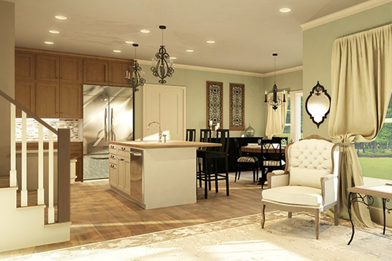 Traditional Interior - Kitchen Plan #1010-201 - Houseplans.com