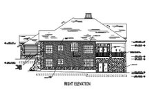 Home Plan - European Exterior - Other Elevation Plan #5-149