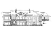 Craftsman Exterior - Rear Elevation Plan #945-139
