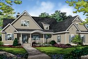 Ranch Style House Plan - 4 Beds 3 Baths 2484 Sq/Ft Plan #929-1004