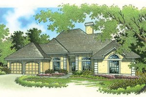 Traditional Exterior - Front Elevation Plan #45-275