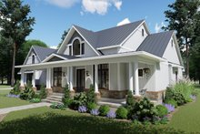 Architectural House Design - Farmhouse Exterior - Front Elevation Plan #120-257