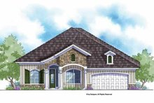 Home Plan - Country Exterior - Front Elevation Plan #938-57