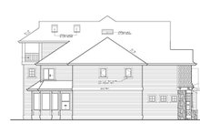 Craftsman Exterior - Other Elevation Plan #132-513