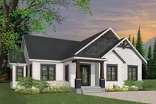 Craftsman Exterior - Front Elevation Plan #23-2667