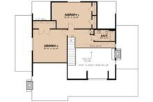 Cottage Floor Plan - Upper Floor Plan Plan #923-68
