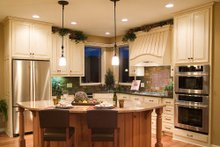 Dream House Plan - Craftsman Interior - Kitchen Plan #56-588