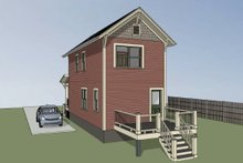 Home Plan - Traditional Exterior - Other Elevation Plan #79-277