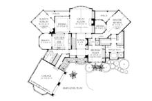 European Floor Plan - Main Floor Plan Plan #929-894