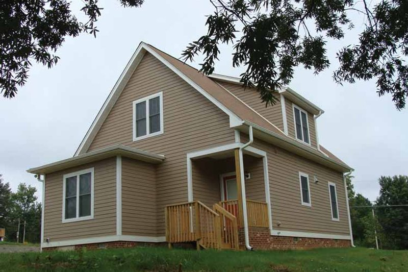 Craftsman Exterior - Rear Elevation Plan #936-2 - Houseplans.com