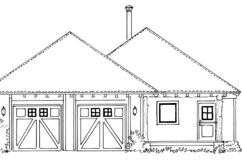 Country Exterior - Front Elevation Plan #942-28 - Houseplans.com