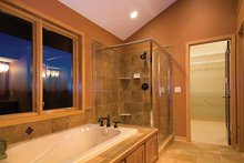 House Plan Design - Prairie Interior - Master Bathroom Plan #51-1126
