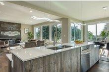 Modern Interior - Kitchen Plan #1066-67