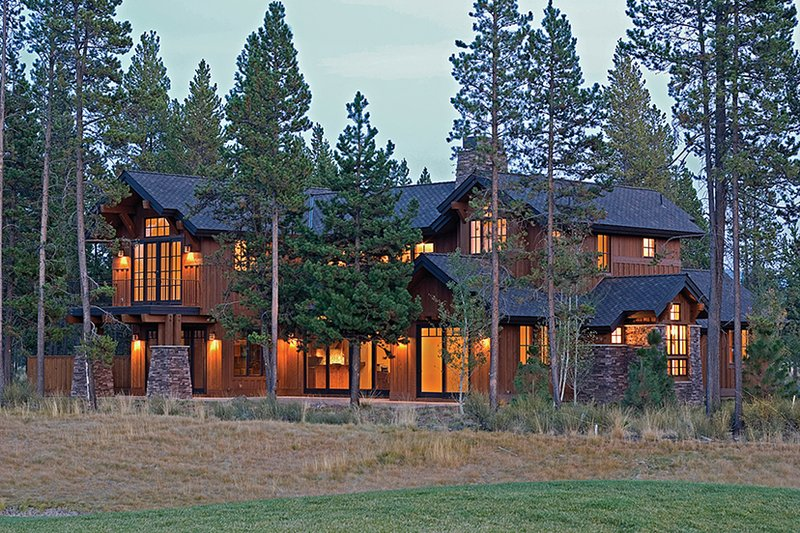 Craftsman Exterior - Rear Elevation Plan #892-19 - Houseplans.com
