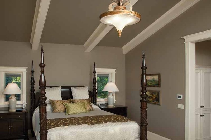 Country Interior - Master Bedroom Plan #928-99 - Houseplans.com