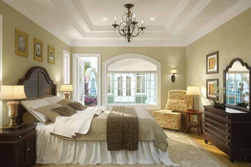Mediterranean Interior - Master Bedroom Plan #938-25 - Houseplans.com