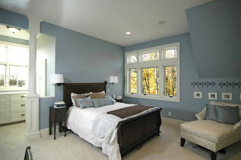 European Interior - Bedroom Plan #928-25 - Houseplans.com