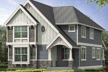 Craftsman Exterior - Front Elevation Plan #132-387