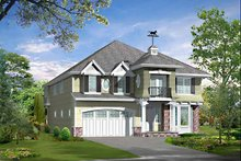 Dream House Plan - Craftsman Exterior - Front Elevation Plan #132-421