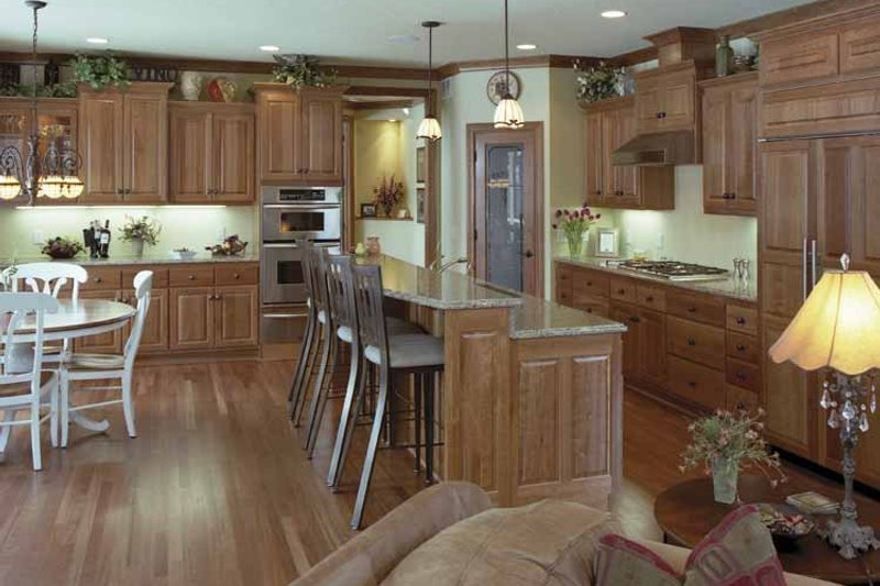 European Interior - Kitchen Plan #51-638 - Houseplans.com