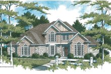 Dream House Plan - Traditional Exterior - Front Elevation Plan #48-159