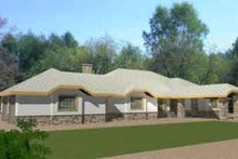 Home Plan - Traditional Exterior - Front Elevation Plan #117-173