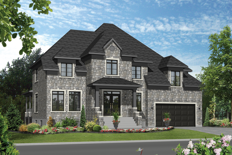 Traditional Style House Plan - 4 Beds 2 Baths 4122 Sq/Ft Plan #25-4632