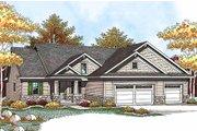 Craftsman Style House Plan - 2 Beds 2 Baths 1428 Sq/Ft Plan #70-927