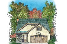 House Plan Design - Country Exterior - Front Elevation Plan #1016-110