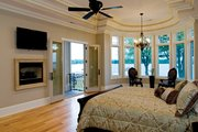 European Style House Plan - 4 Beds 4 Baths 6155 Sq/Ft Plan #929-895 Interior - Master Bedroom