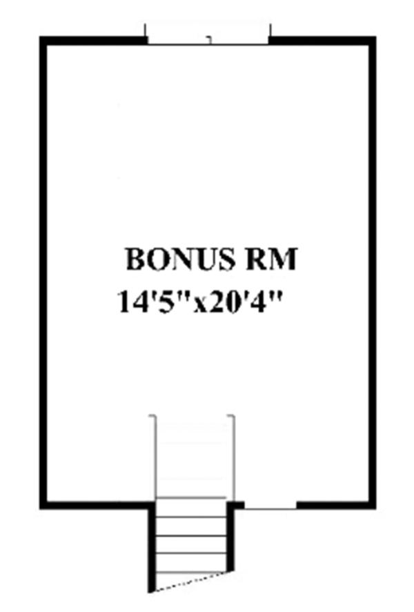 Craftsman Floor Plan - Other Floor Plan Plan #991-29