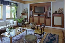 House Plan Design - Traditional Interior - Family Room Plan #939-2
