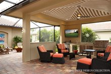 Mediterranean Exterior - Outdoor Living Plan #930-457