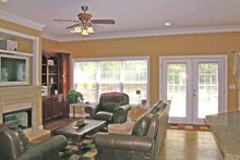 Country Interior - Family Room Plan #314-232