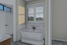Architectural House Design - Traditional Interior - Master Bathroom Plan #1060-59